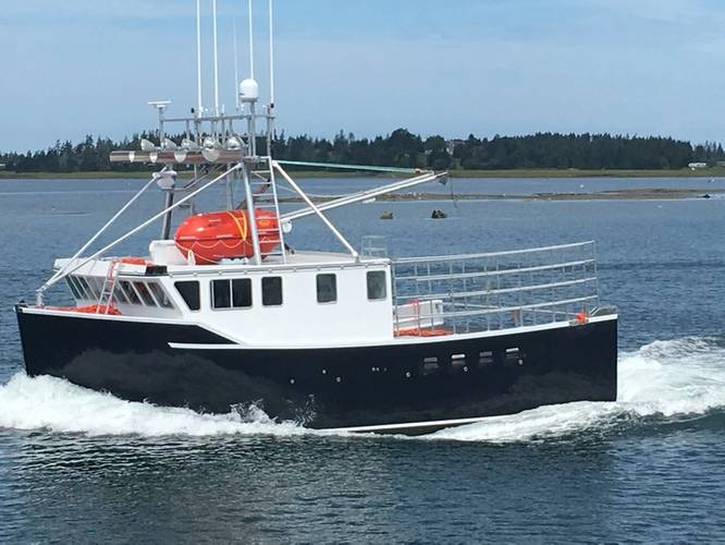 Bayview Marine recently launched the first in the 15-boat series and is well pleased with the initial performance. Image: Cummins