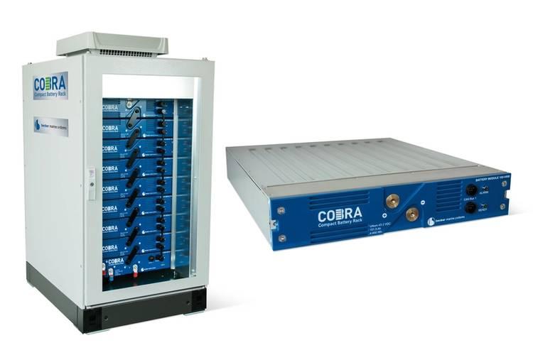 Becker COBRA Compact Battery Rack (Image: Becker Marine Systems)