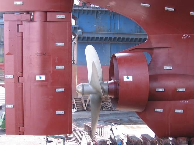 Becker Mewis Duct with Becker Flap Rudder (Photo: Becker Marine Systems)