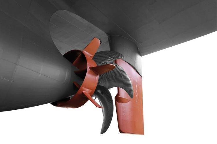 Becker Performance Package, consisting of Becker Mewis Duct Twisted with Becker Twist Rudder (Image: Becker Marine Systems)