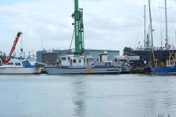 BLYTH WORKCAT BECOMES FIRST BOAT IN UK TO BE TREATED WITH DUPLEX SILICONE FOULING RELEASE