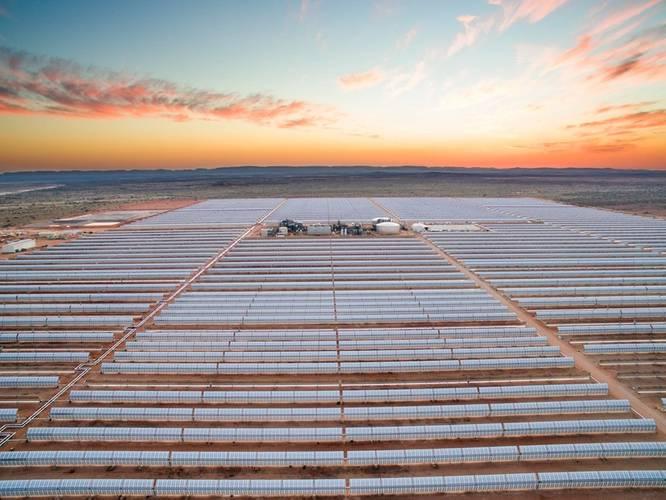 Bokpoort solar power plant in South Africa (Image: SENER Group)