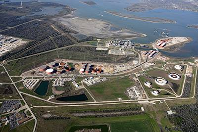 BOSTCO Terminal (photo courtesy of Kinder Morgan Energy Partners)