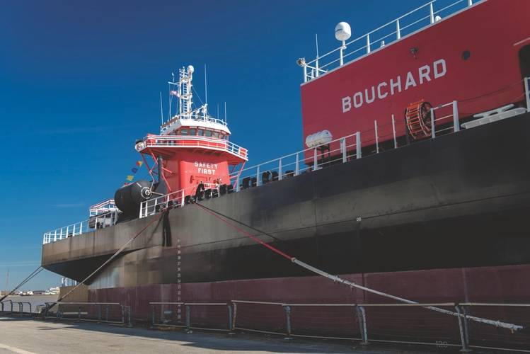 Bouchard Transportation is the largest flat-deck double-hull petroleum barge company in the United States. (Credit: Bouchard Transportation)