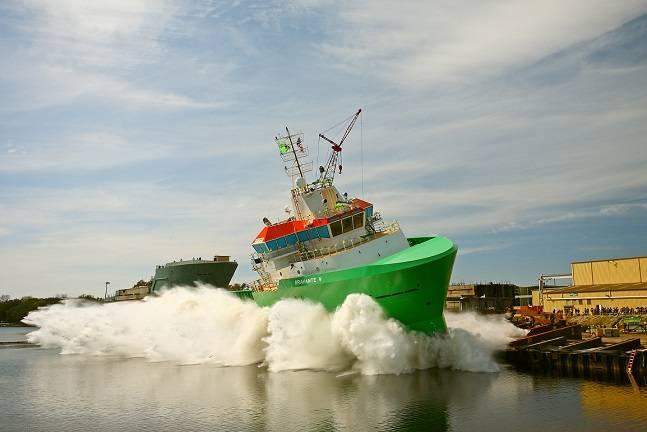 Bravante V (Photo: Eastern Shipbuilding Group)