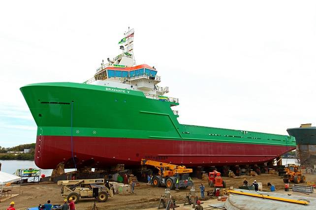 Bravante V (Photo: Eastern Shipbuilding Group)