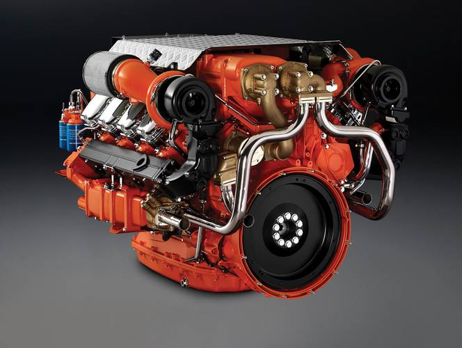 Build to last: The new DI16 features an impressive max torque of 3.340 Nm at 2.000 rpm. (Photo: Scania)