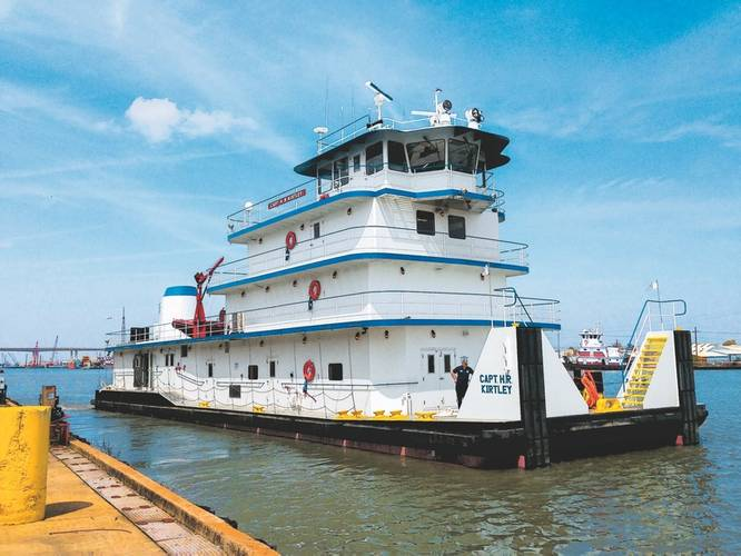 Built between 1950 and 1980, Southern Towing how has one of the most fuel-efficient fleets on the Mississippi.