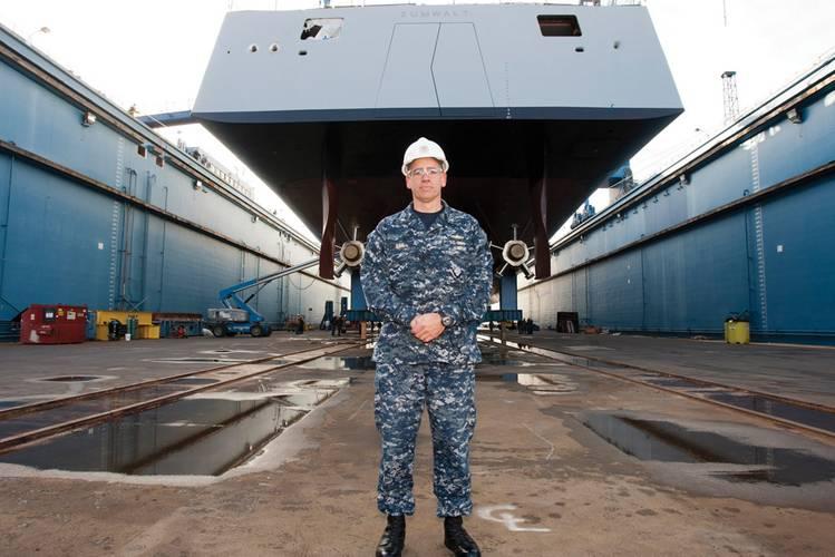Capt. James Kirk  (Photo credit: GD-BIW, M. Nutter)