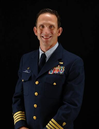 Captain Lee Boone is the Chief of the U.S. Coast Guard's Office of Investigations & Casualty Analysis