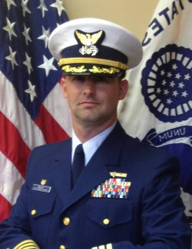 Captain Sean T. Brady, Chief of the Coast Guard's Office of Operating and Environmental Standards (OES)