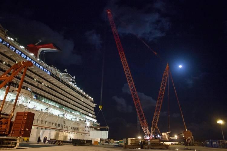 Carnival Magic (Photo: Grand Bahama Shipyard)