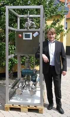 Carsten Hounsgaard with S3 Smart Sulphur Switch