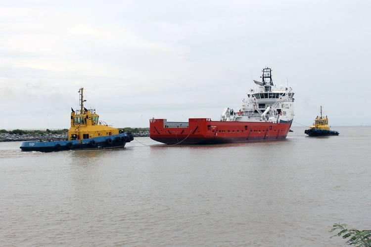 CBO Oceana underway for sea trial (Photo: Ulstein)