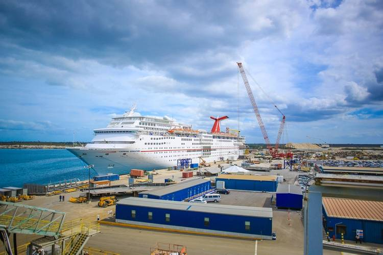 CCL Sensation (Photo: Grand Bahama Shipyard)