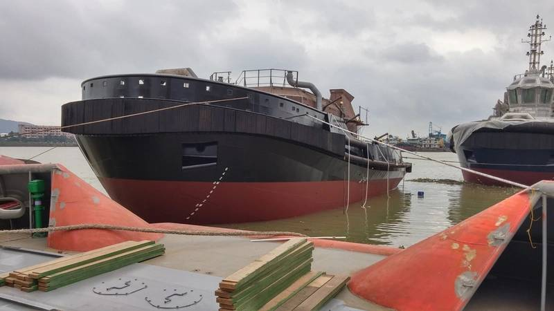 Cheoy Lee Shipyards launched the 100th vessel it has built to a Robert Allan Ltd. design Photo Robert Allan Ltd