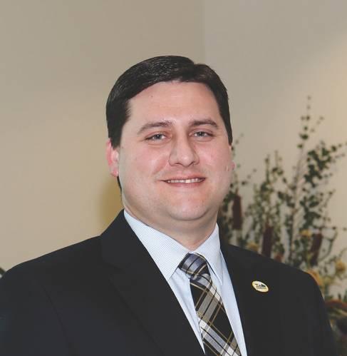 Chett Chiasson, Executive Director of the Greater Lafourche Port Commission
