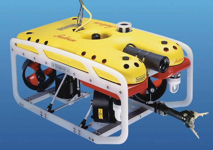 Chosen by Nautilus for its versatility, the easy to manhandle Falcon has the power to operate a wide range of tooling