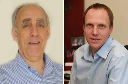 Christopher von Alt (left) and Duane Fotheringham