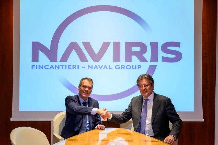 Claude Centofanti et Enrico Bonetti (Photo: The Naval Group)