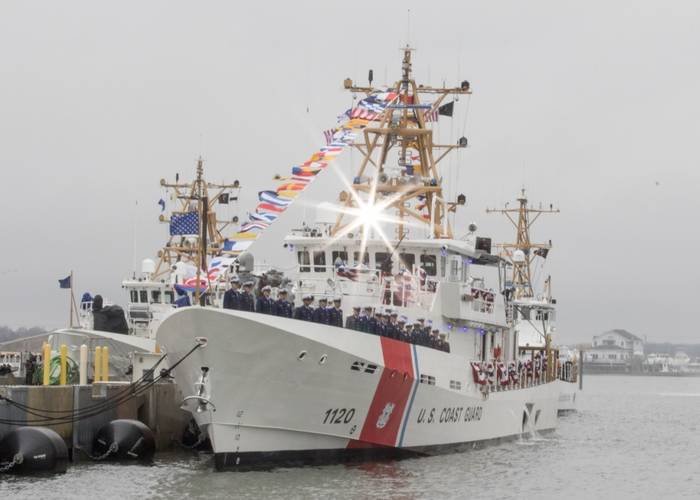 Coast Guard Cutter Lawrence Lawson Commissioning (Photo by Petty Officer 2nd Class Nate Littlejohn)