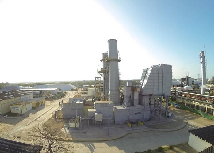 Cogeneration plant for CYDSA in Mexico