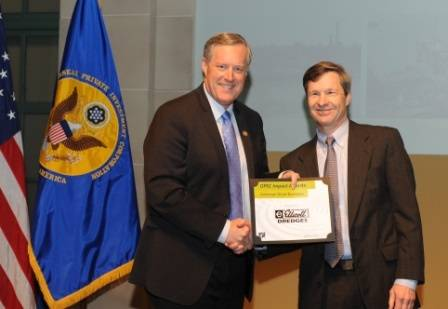 Congressman Mark Meadows (NC) and Ellicott's Peter Bowe