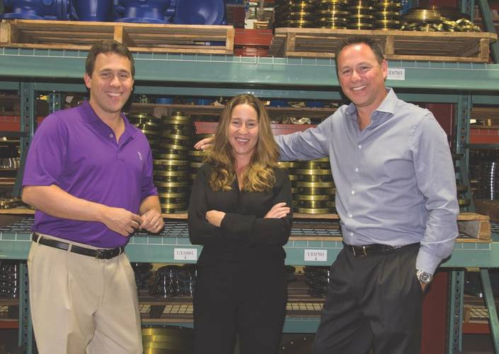 Constantinos Contos children – Theo, Anthee and George – have effectively grown the business from $3 million in 2000 to more than $20 million today. (Photo: World Wide Metric)