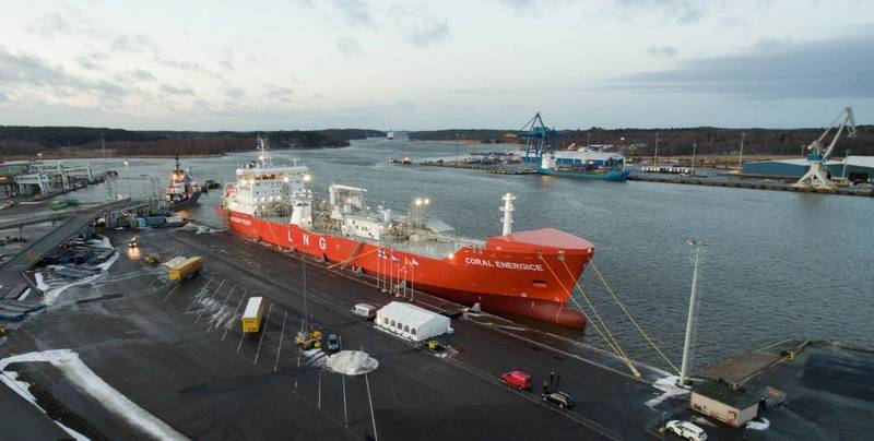 Coral EnergICE is the third LNG carrier Anthony Veder has delivered to Skangas in the past five years (Photo: Skangas)