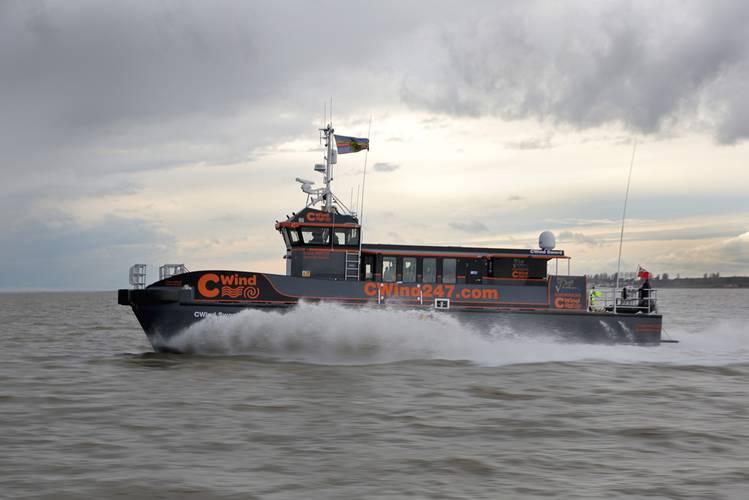 CTruk MPC22 Composite Twin Hull Wind Farm Support Vessel - Fast Workboat
