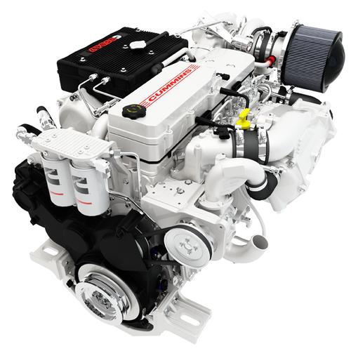 Cummins QSB6 7 engine (Photo: Cummins Darlington)