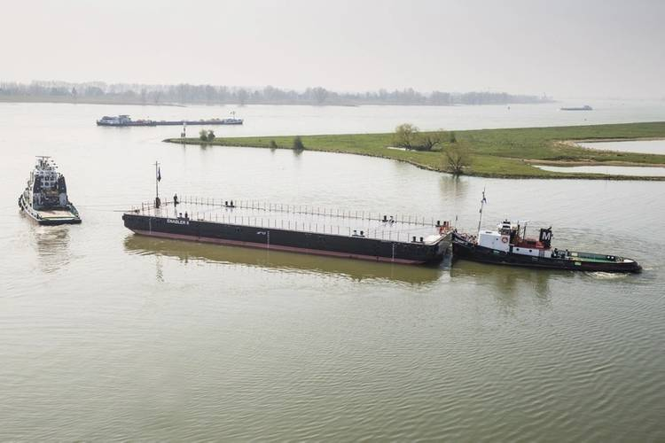 Damen barge will provide a range of services to the Norwegian aquaculture industry