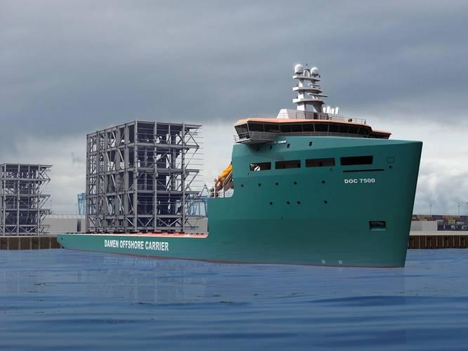 Damen Offshore Carrier 7500 (Photo: Damen)