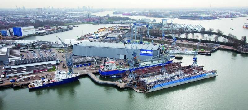 Damen Shiprepair Rotterdam (Photo: Damen)