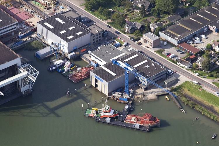 Damen Shipyards Hardinxveld Photo Damen