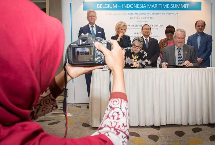 Deal Signed at Belgium-Indonesia Maritime Summit Photo Antwerp Port