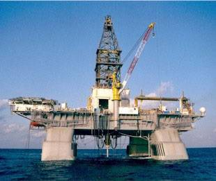Deepwater Horizon oil rig before April 20, 2010