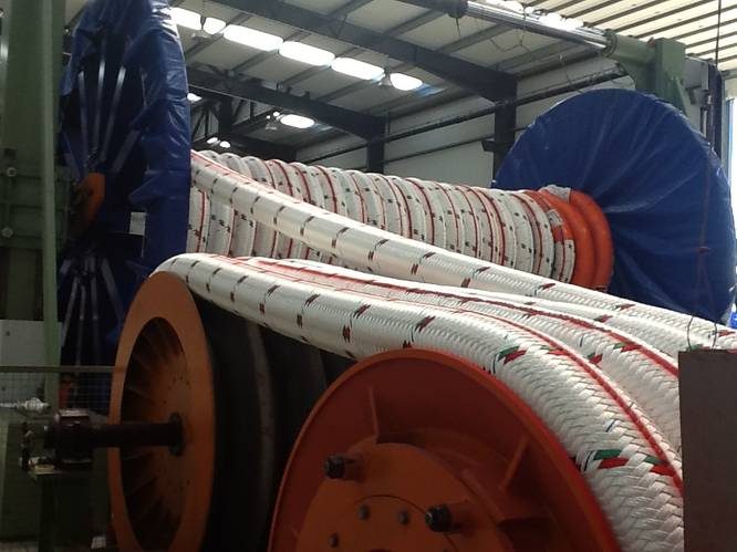 Deepwater rope manufacture at Lankhorst Ropes (Photo: Lankhorst Ropes)