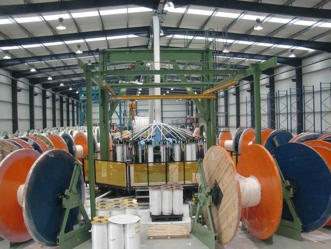 Deepwater rope manufacture at Lankhorst Ropes (Photo: Lankhorst Ropes)