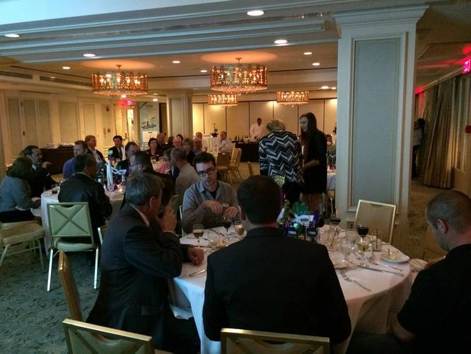 Dinner reception held at the Hotel Monteleone (Photo: E-Crane)