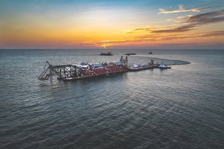Dredge Texas. Photo: Great Lakes Dredge & Dock