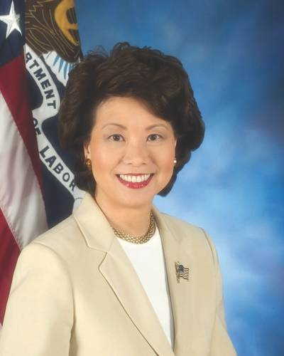 Elaine Chao was sworn in to be the U.S. Secretary of Transportation
