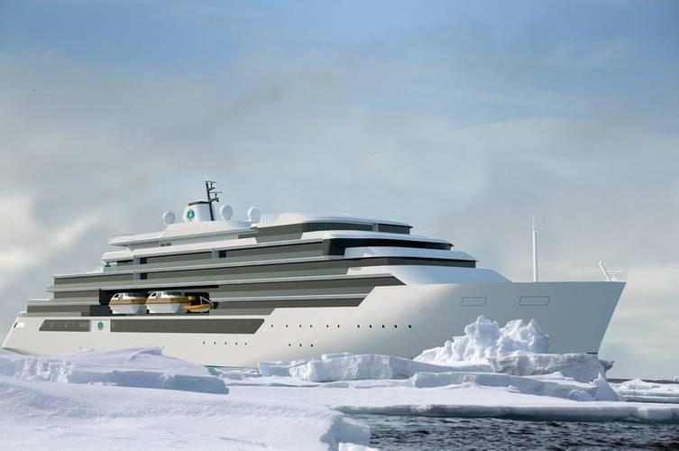 Endeavor Class vessel (Rendering: Genting Hong Kong / MV WERFTEN)