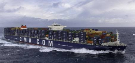 Energy Efficiency Award Nominee: Marco Polo by CMA CGM