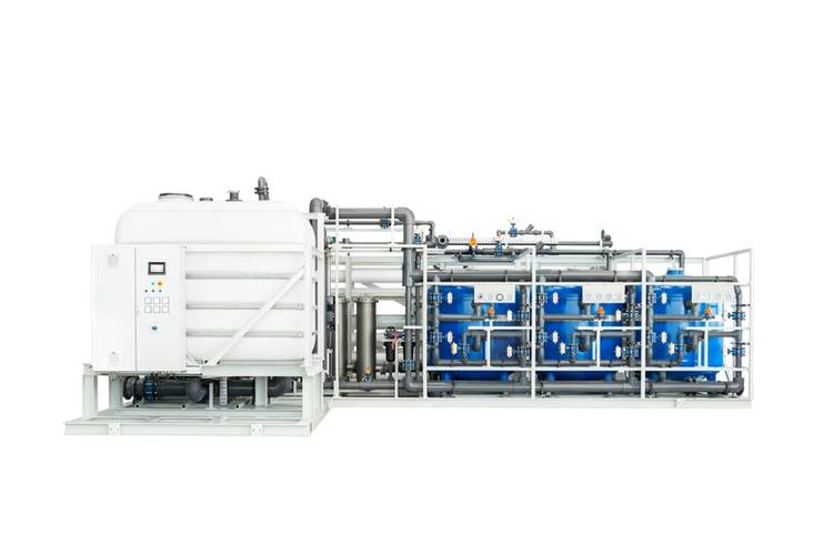 Evac ROSYS reverse osmosis plants are used for energy efficient freshwater generation. (Image: Evac)