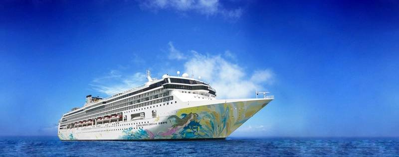 Explorer Dream under the Dream Cruises brand is the first cruise vessel undergoing DNV GL's new certification in prefection prevention. (Image: Genting Cruise Lines)