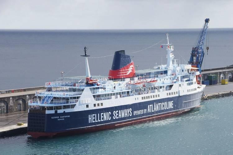 Express Santorini (Photo: Gibdock)