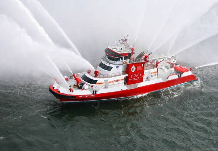 FDNY's Three Forty Three (Photo: Eastern Shipbuilding)