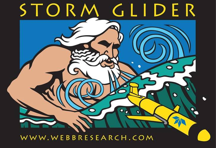 Fig.3: Teledyne Slocum glider for storm monitoring. Credit: Teledyne Marine