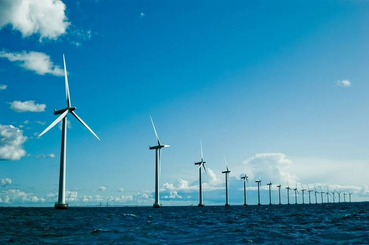 file Image: a typical offshore Wind Farm. CREDIT:  AdobeStock / Yauhen Suslo